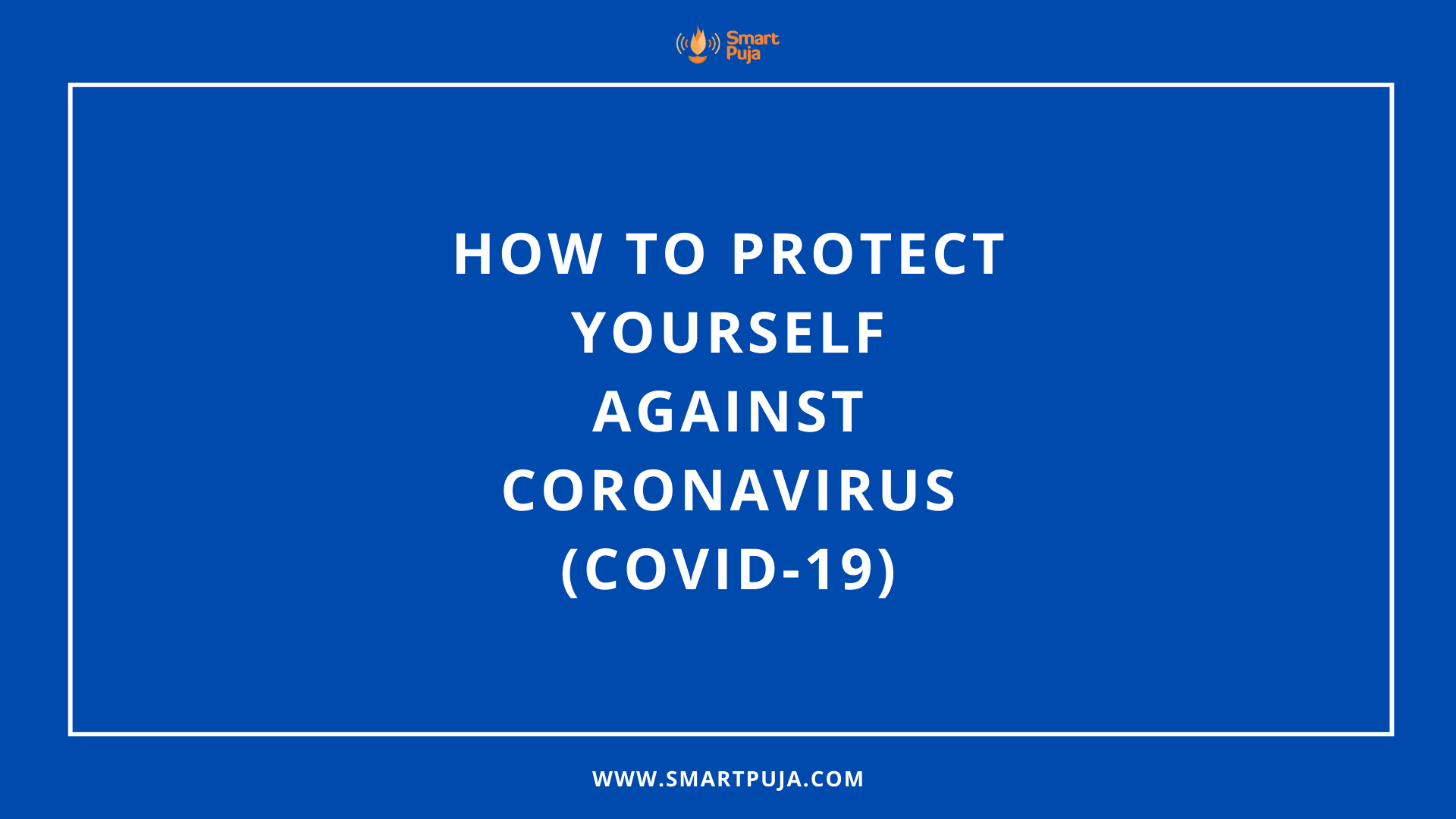 coronavirus awareness - smartpuja.com